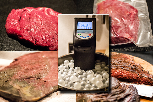 sous vide flanksteak fajitas med chimichurri fjordrejen. Black Bedroom Furniture Sets. Home Design Ideas